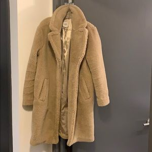 Teddy Bear shearling cost from Gap